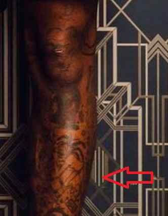 Ty Dolla Sign design tattoo
