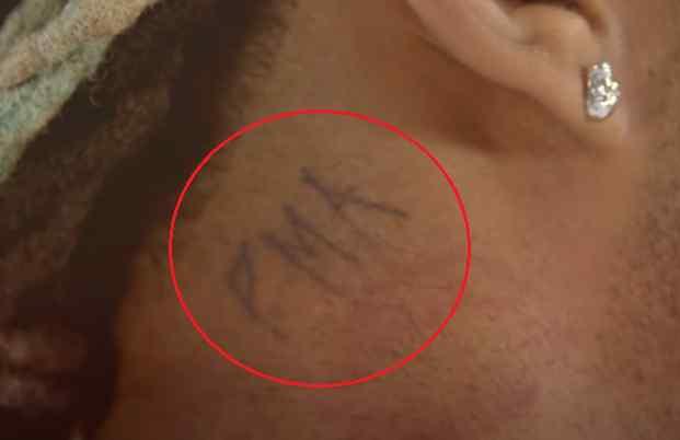 Ty Dolla Sign pma tattoo