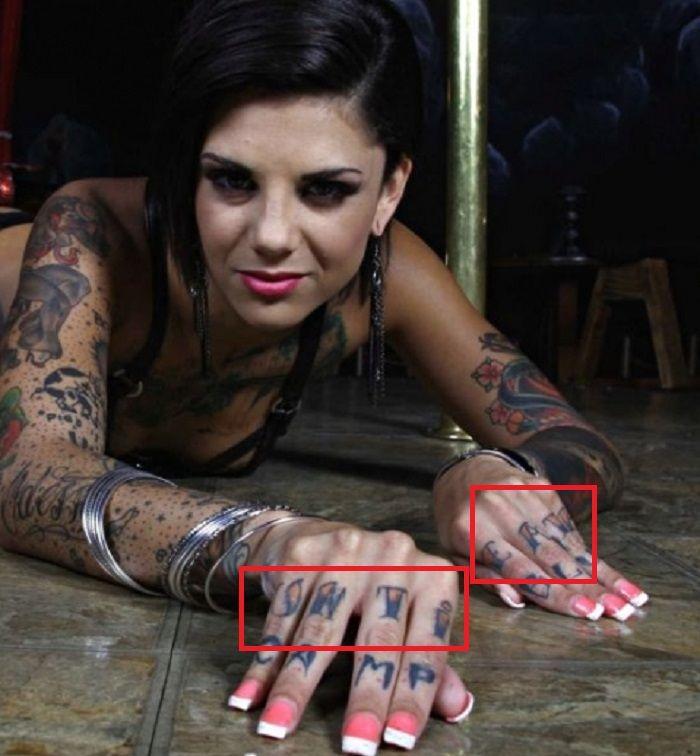 bonnie rotten untill death tattoo
