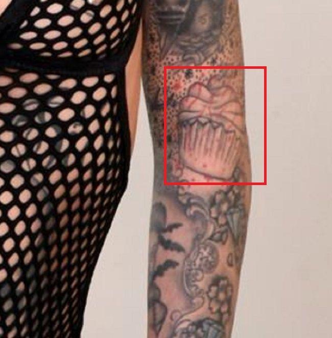 cupcake leigh raven tattoo
