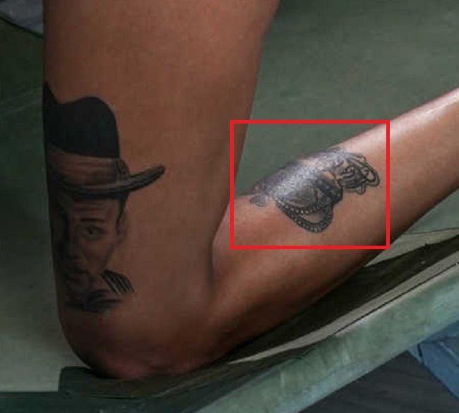 left leg of bonnie rotten
