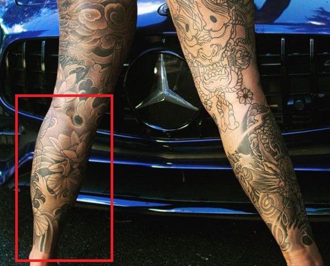 left leg-tattoo-renee-gracie-tat