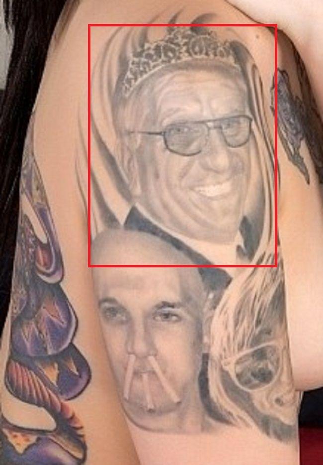 leigh arm tattoo