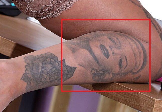 right leg of alice judge tattoo