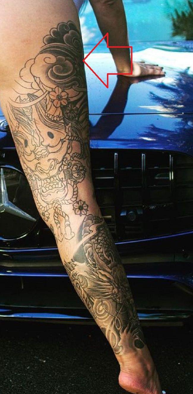 right thigh renee gracie-tattoo