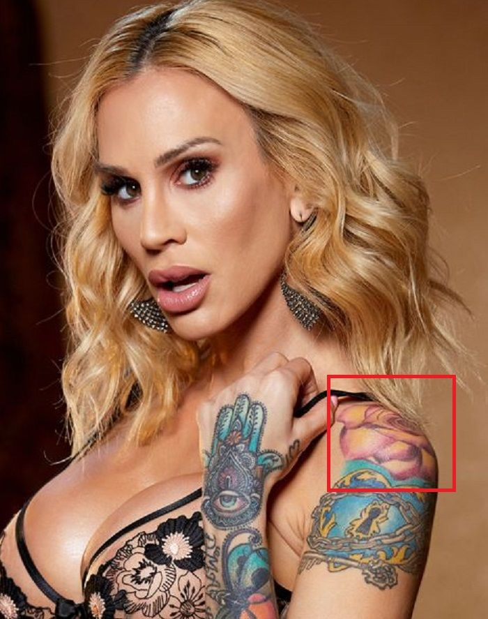 rose tattoo of sarah jessie