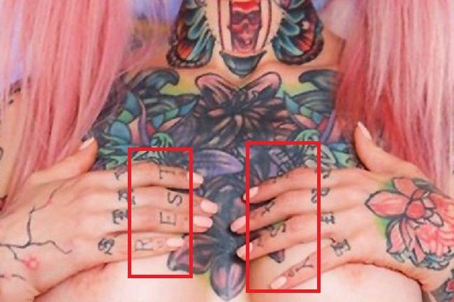 sydnee vicious REST EASY-tattoo