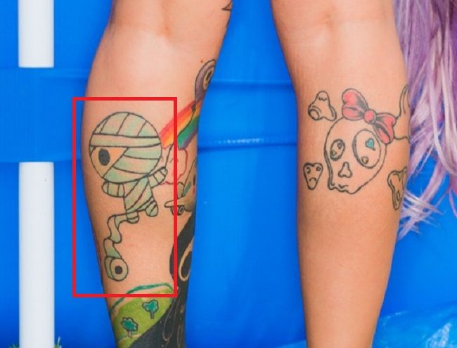 sydnee vicious left leg