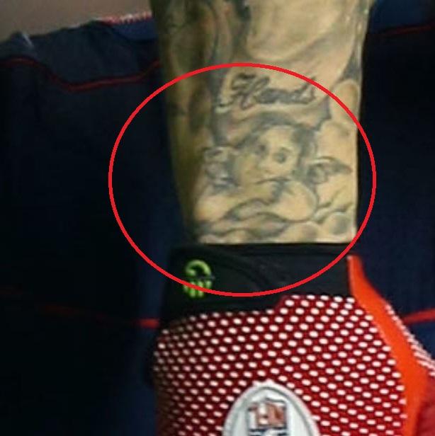 Aaron baby angel tattoo