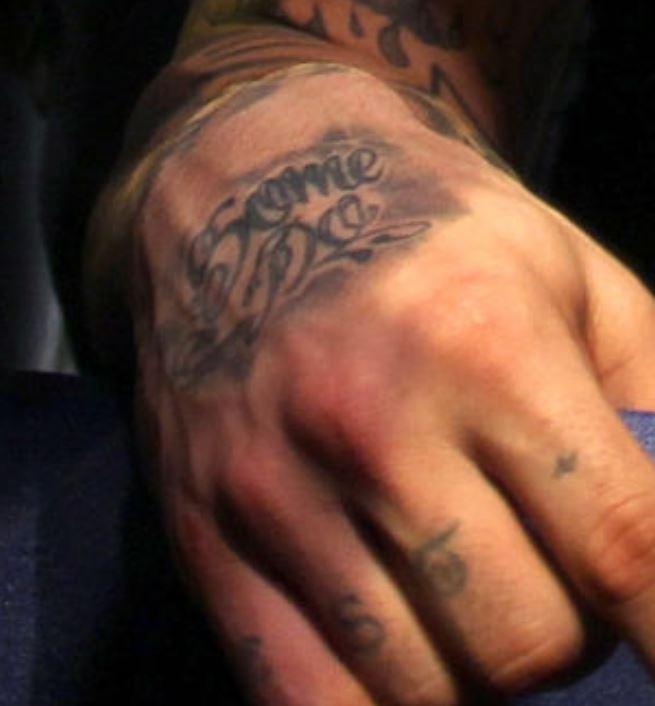 Aaron some do tattoo