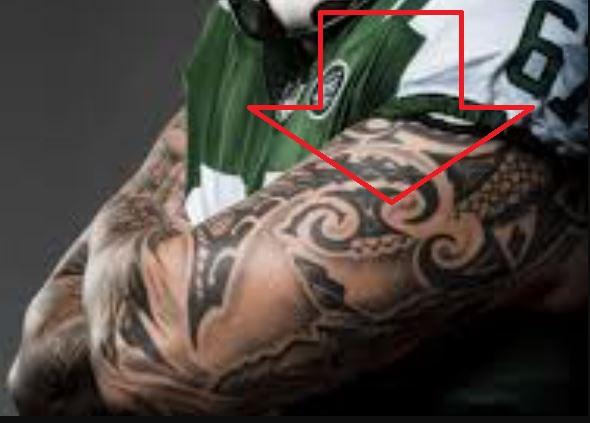 Brian tribal tattoo