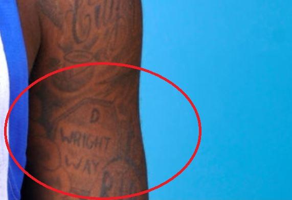 Dorell D WRIGHT WAY Tattoo