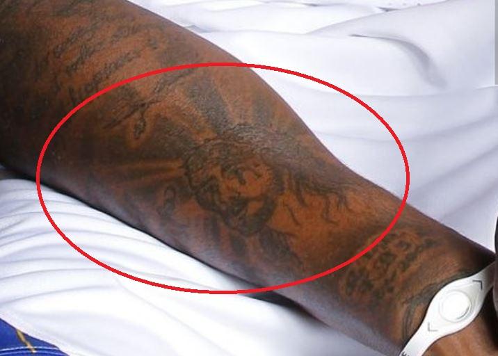 Dorell Jesus Christ tattoo