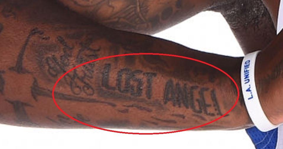 Dorell LOST ANGEL Tattoo