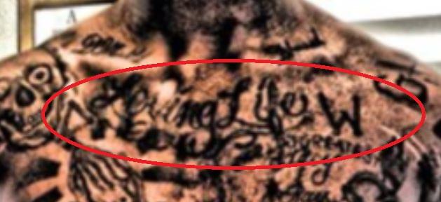 Dorell Loving Life Tattoo