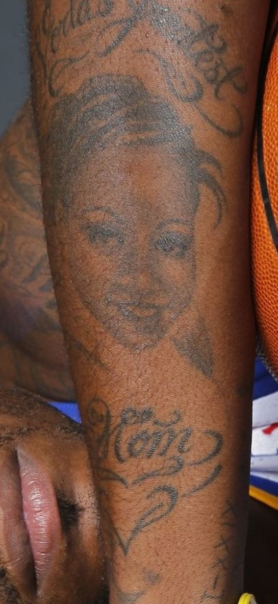 Dorell portrait on ar tattoo