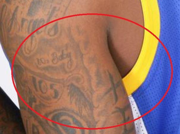 Dorell shoulder tattoo