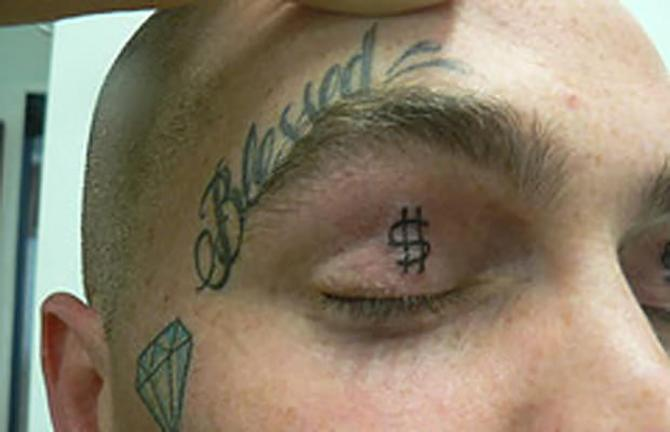 Eye Lid Tattoo