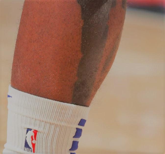 James leg tattoo