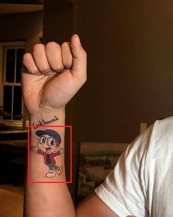 Logic Right Wrist Tattoo