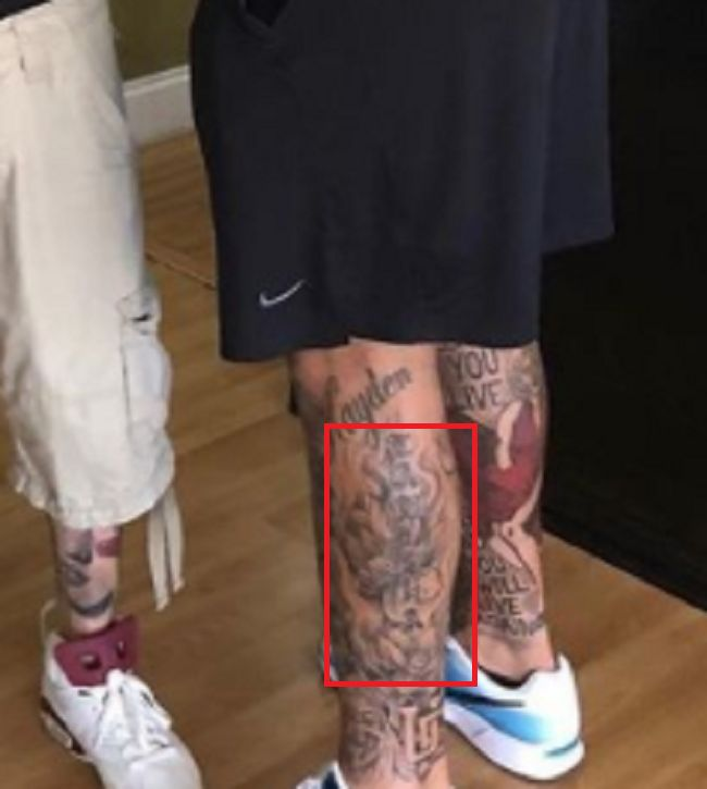 Mike Pouncey Left-Tattoo