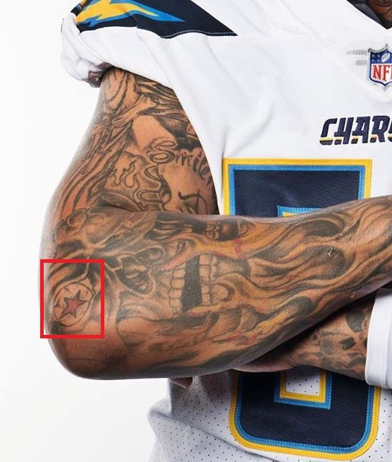 Mike pouncey-Right arm