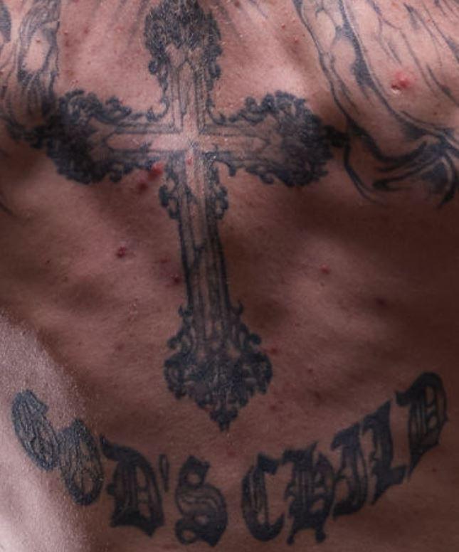 Robert cross and writing tattoo