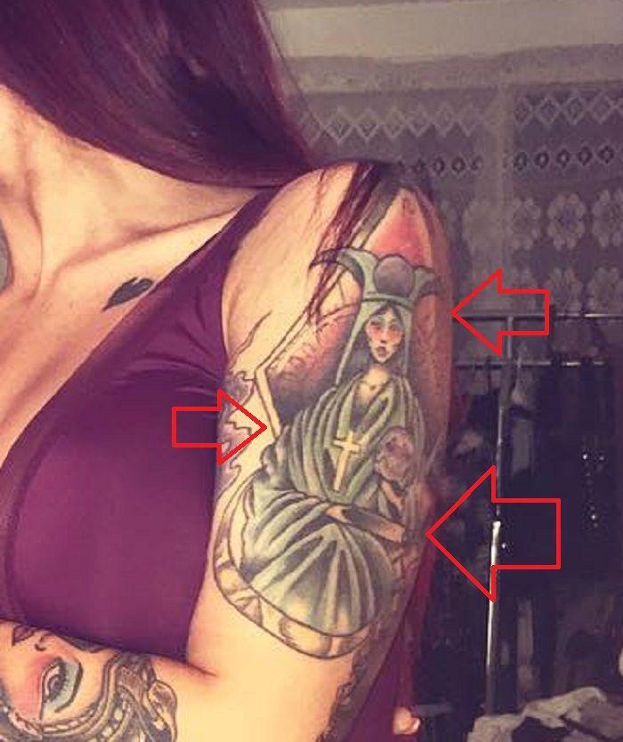 Tana Lea-High Priestess-Tattoo