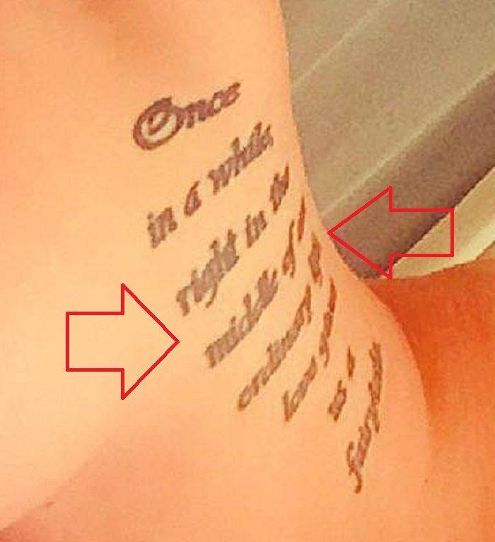 Tana Lea-Quote-Tattoo
