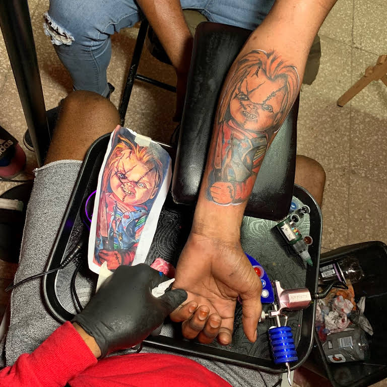 tattoo studio in Jamaica