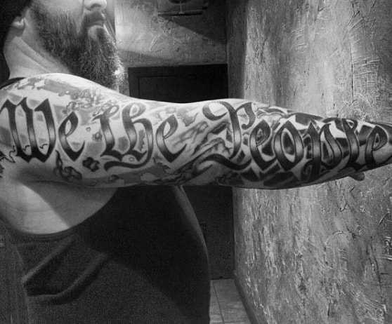 We The People Tattoo