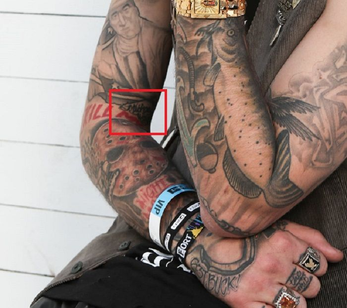yelawolf right forearm