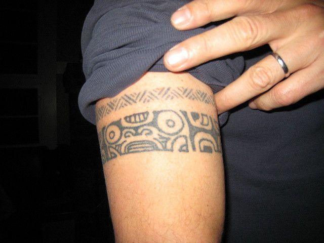Anthony TRIBAL BAND tattoo