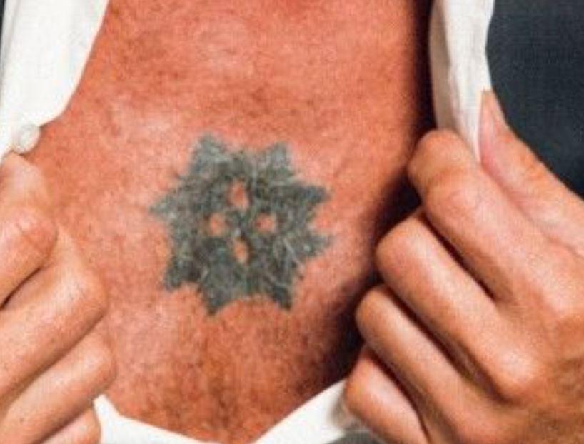 Anthony chest tattoo