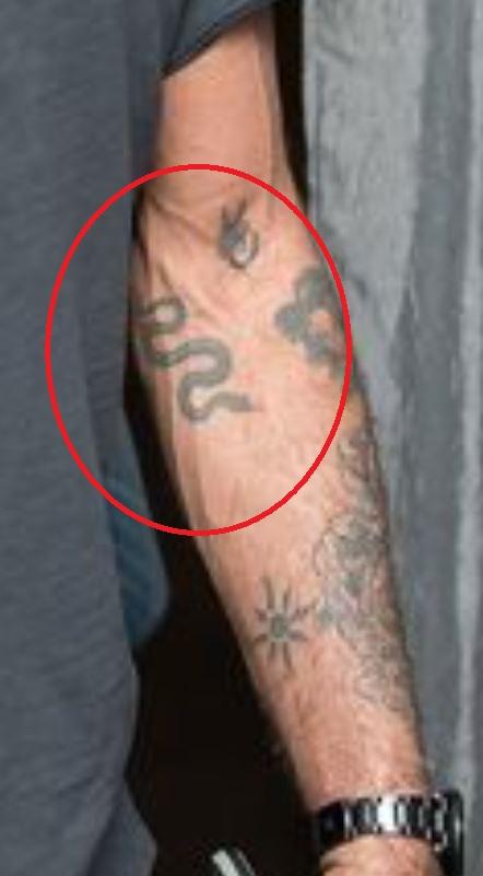 Anthony left forearm tattoos