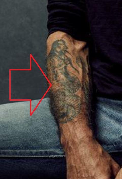 Anthony right forearm tatto