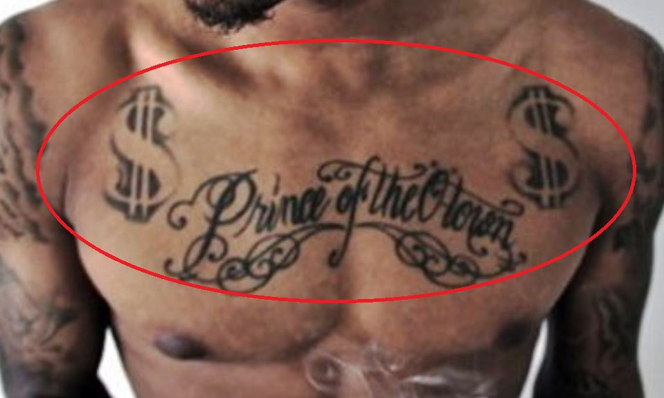 Bow Wow Prince of the Town Tattoo