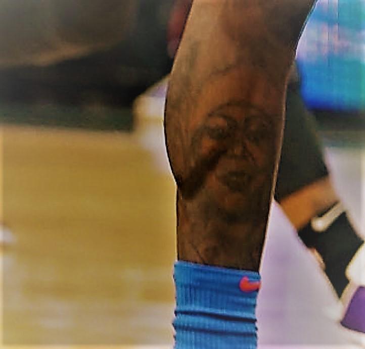 Dennis portrait tattoo