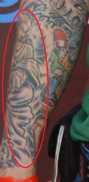 Fred lady tattoo