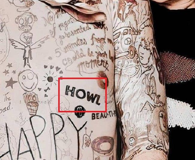 HOWL-tattoo mod sun