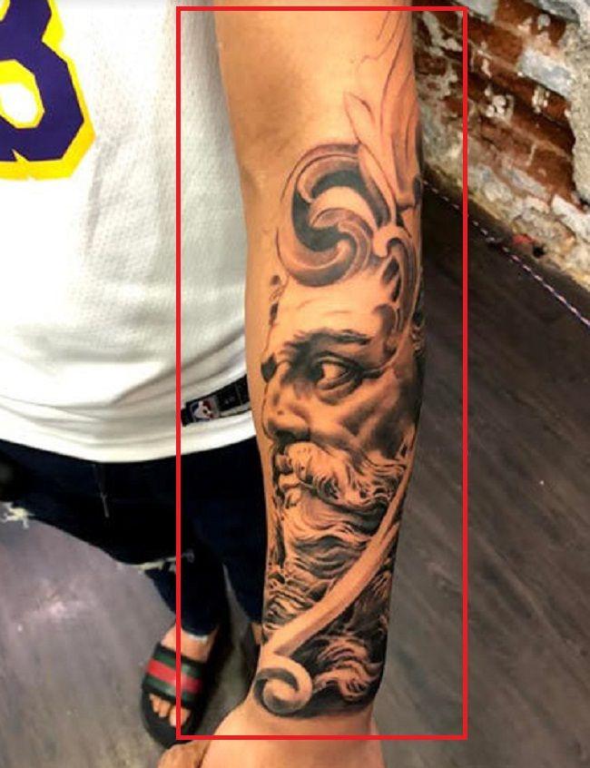 Ishan Kishan-Roman Culture-Tattoo