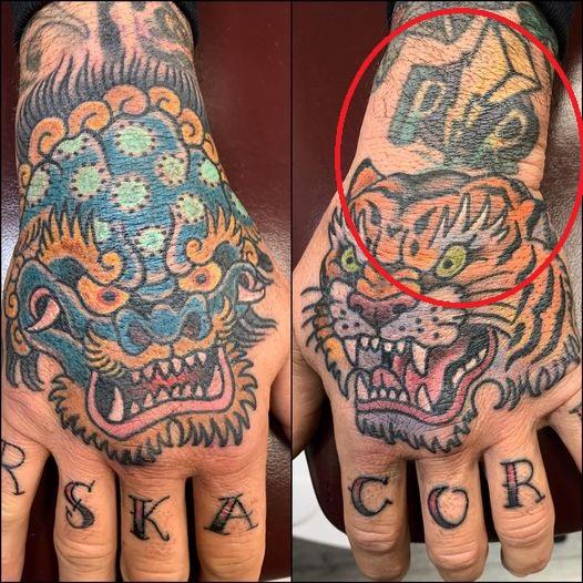Jason Wrist tattoo