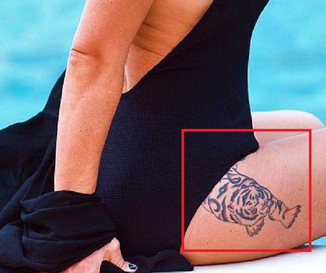 Jennifer Lynn Farley-JWoww-Tiger-Tattoo