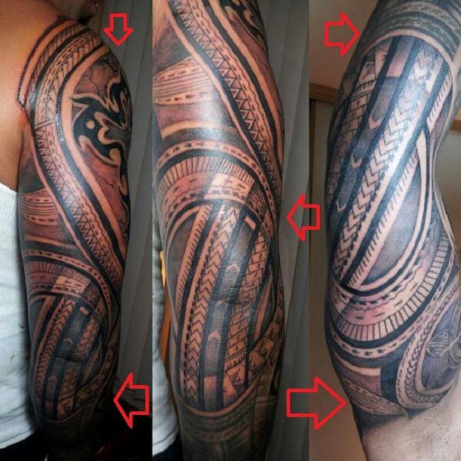 Jey Uso-Tattoo-Tribal