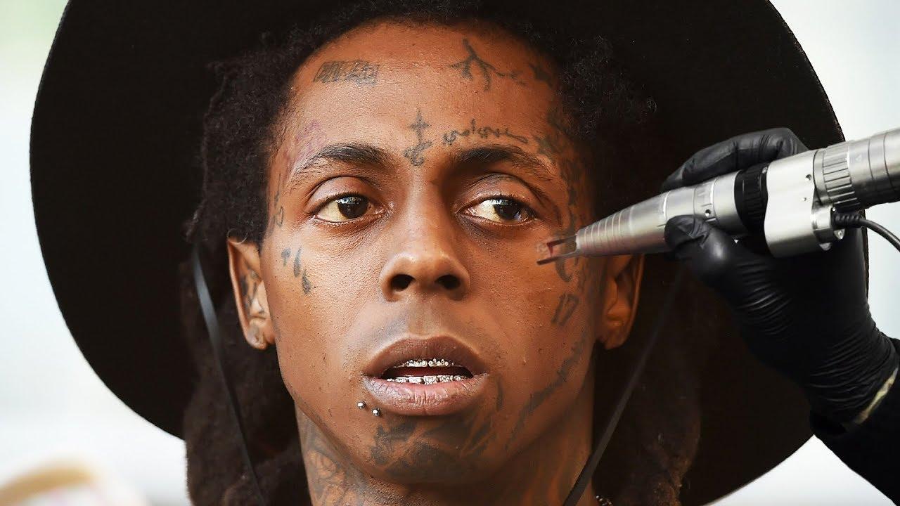 under eye tattoo
