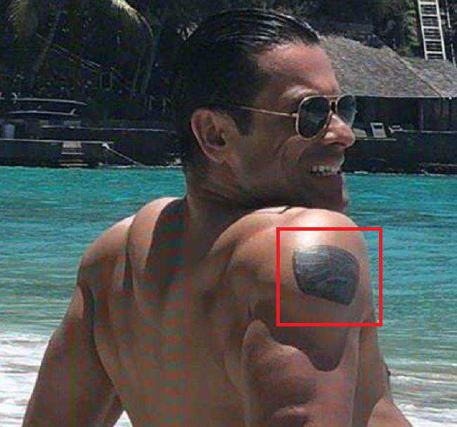 Mark Consuelos-Tattoo