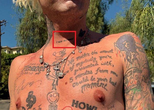 Mod Sun-I am myself-Tattoo