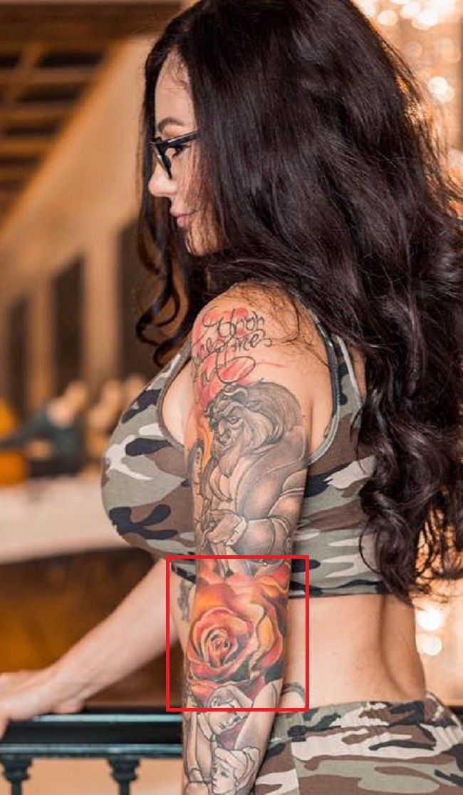 Rose-Tattoo-Jennifer lynn Farley-JWoww-Tattoo