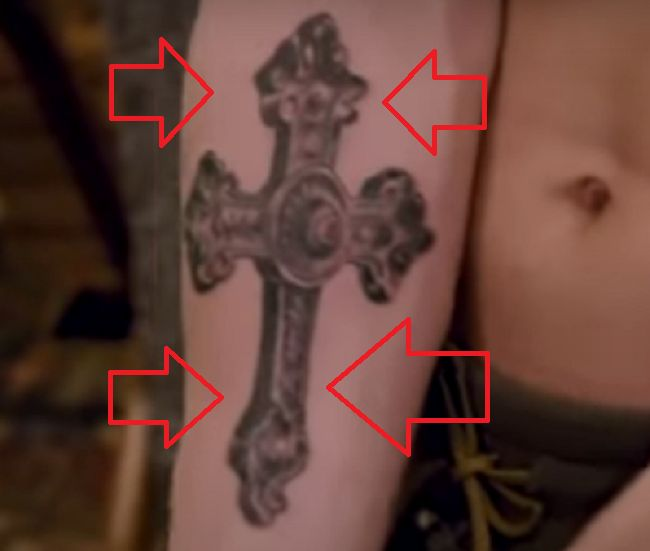 Ryan Garcia-Cross-Tattoo