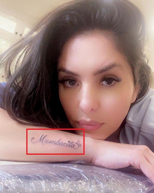 Vanessa Bryant-mambacita-tattoo